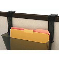 deflecto Plastic Partition Brackets Break Resistant