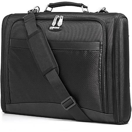 "Mobile Edge Express Carrying Case (Briefcase) for 17"" Chromebook - Black - 1680D Ballistic Nylon - Shoulder Strap, Handle - 12.3"" Height x 17.3"" Width x 3"" Depth"