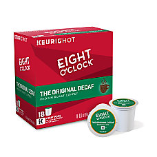 Eight OClock Original Decaffeinated Coffee K