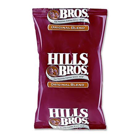 Office Snax® Hill Bros. Original Blend Coffee, 1.8 Oz., Carton Of 42 Bags