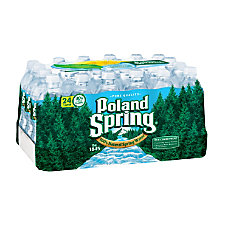 Poland Spring Brand 100percent Natural Spring