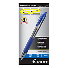 Pilot G2 Retractable Gel Ink Rollerball