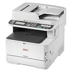 Oki MC363dn LED Multifunction Printer Color
