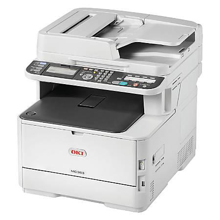 Oki MC363dn LED Multifunction Printer - Color