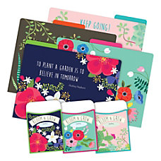 Barker Creek Card Stock FoldersPockets Letter