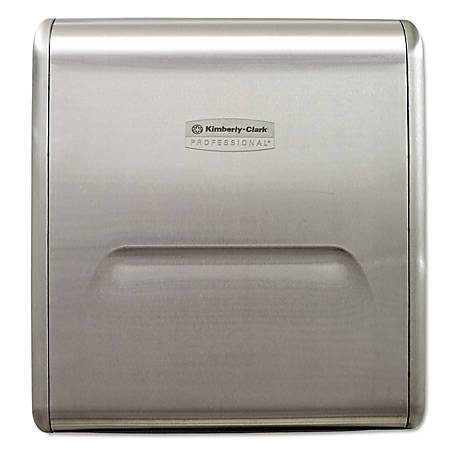 Kimberly-Clark® MOD Recessed Paper Towel Dispenser, Stainless Steel