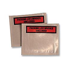 Quality Park Printed Packing ListInv Envelopes