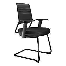 Koplus Switch Fabric Guest Chairs Cantilever