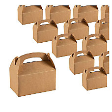 Treat Boxes 24 Pack Paper Party