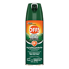 OFF Deep Woods Sportsmen Insect Repellent