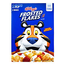 Kelloggs Frosted Flakes Cereal 619 Oz