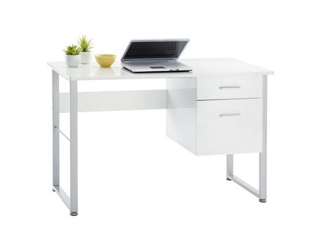 Outstanding Realspace Halton 47W Computer Desk White Item 761590 Download Free Architecture Designs Photstoregrimeyleaguecom