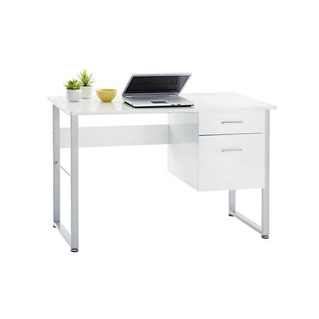 Brenton Studio® Halton Desk, White