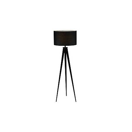 "Adesso® Director Floor Lamp, 62 1/2""H, Black"