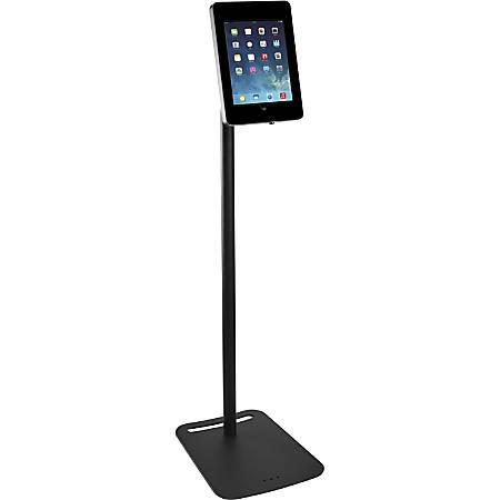 Tryten Locking iPad Pivot Floor Stand Black