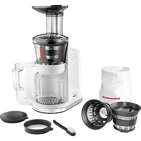 Best Slow Extraction Juicer : KitchenAid Maximum Extraction Juicer Slow Juicer by Office Depot & OfficeMax
