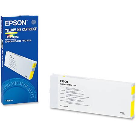 Epson T408011 Yellow Ink Cartridge