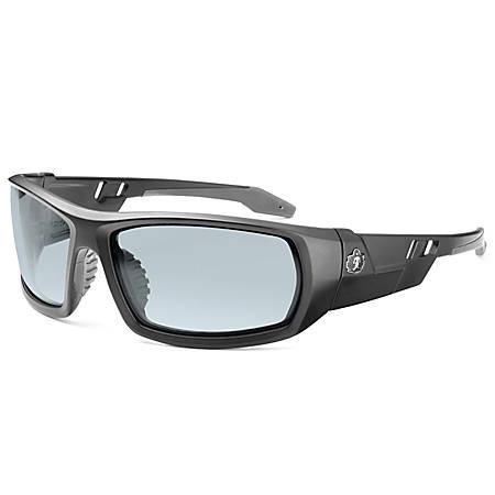 Ergodyne Skullerz® Safety Glasses, Odin, Matte Black Frame, Indoor/Outdoor Lens