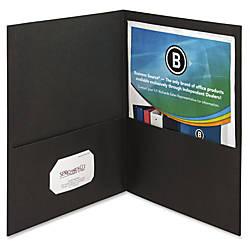 Business Source Two Pocket Folders Letter