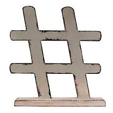 Realspace Hashtag Desktop Figurine 9 34