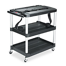 Rubbermaid Commercial Media Master 3 Shelf