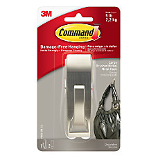 3M Command Damage Free Hook Modern