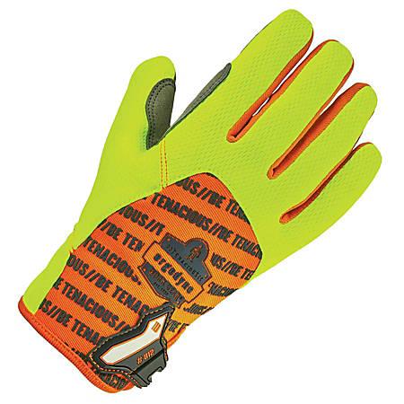 Ergodyne ProFlex 812 Standard Utility Gloves, Large, Lime