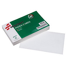 30percent Recycled Index Cards 5 x