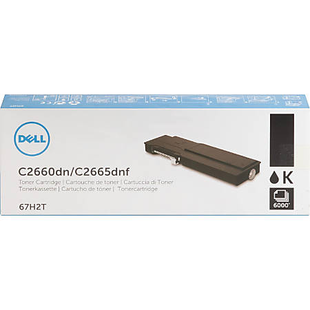 Dell - Extra High Yield - black - original - toner cartridge - for Dell C2660dn, C2665dnf