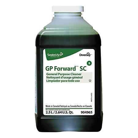 Diversey GP Forward General Purpose Cleaner, Citrus Scent, 84.5 Oz, Case Of 2 Packs