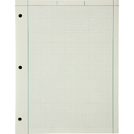 ampad green tint engineers quadrille pad