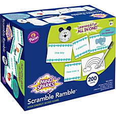 Mind Sparks Scramble Ramble Word Game
