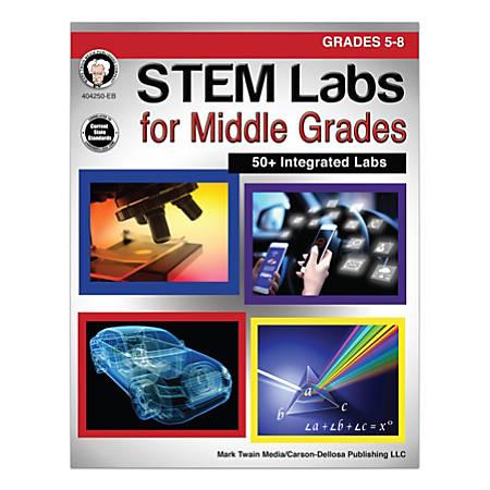 Mark Twain Media STEM Labs For Middle Grades, Grades 5-8