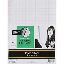 Five Star Reinforced Filler Paper 8