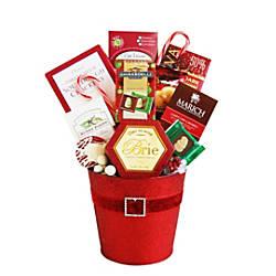 Givens Gifting Santa Holiday Tin Belt