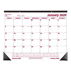 Brownline Monthly Desk Pad Calendar 22