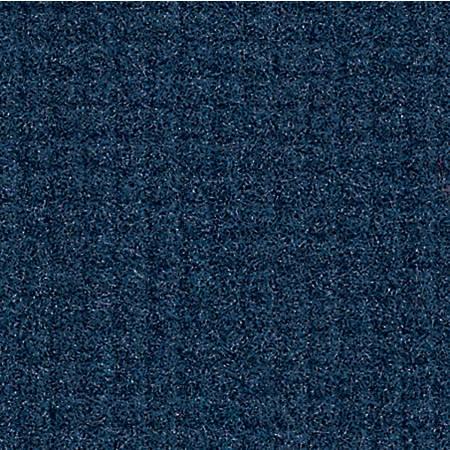 "The Andersen Company Brush Hog Plus Floor Mat, 48"" x 96"", 20% Recycled, Navy Brush"