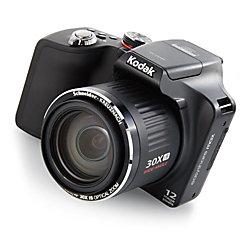 kodak easyshare max z990 12 0 megapixel digital camera black by