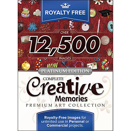 Royalty Free Complete Creative Memories Premium Art Collection - Mac