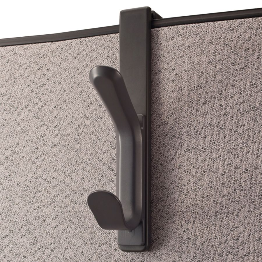 Office Depot Cubicle Coat Hook Charcoal - Office Depot