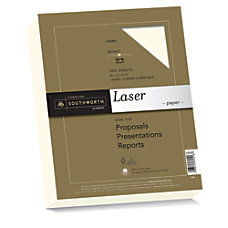Southworth 25percent Cotton Laser Paper 8