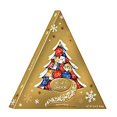 Lindt Lindor Chocolate Truffle Holiday Tree