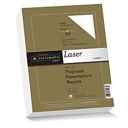 Southworth 25percent Cotton Laser Paper 8