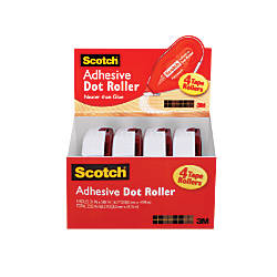 Scotch Adhesive Dot Roller Double Sided