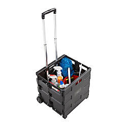 Safco Stow Away Folding Caddy Telescopic