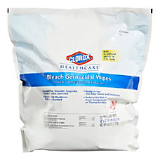 Clorox Healthcare Bleach Germicidal Wipes Refill
