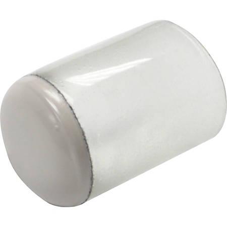"Lorell Clear Sleeve Floor Protectors - 8 Protector of 0.75"" Diameter - Clear - 8/Bag"