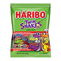 Haribo Twin Snakes 5 Oz Pack