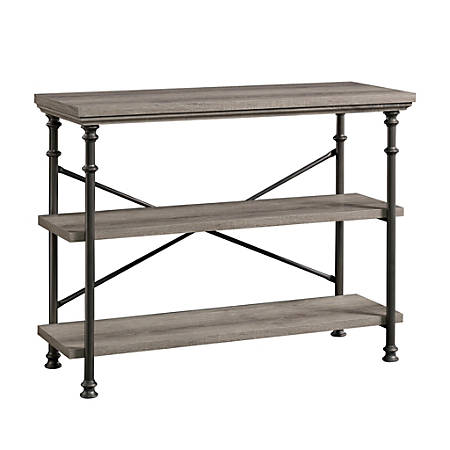 "Sauder® Canal Street Anywhere Console For 42"" TVs, 29-3/4""H x 39-1/2""W x 15-5/8""D, Northern Oak"