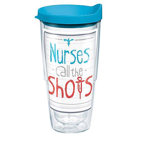 Tervis Tumbler With Lid, 24 Oz, Nurses Call The Shots